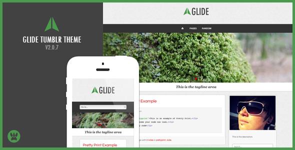 Glide Premium Tumblr Theme