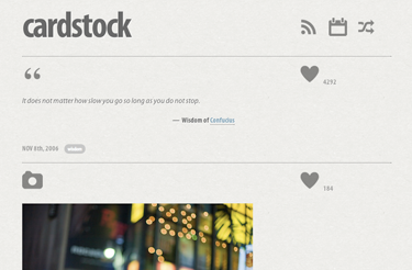 cardstock theme for tumblr