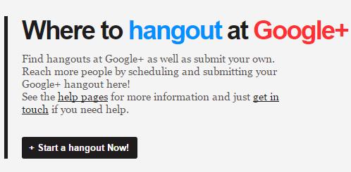 GooglePlus Hangouts