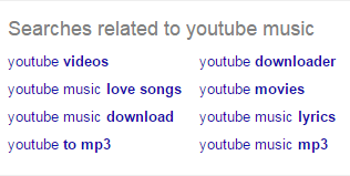 Searches related to youtube music