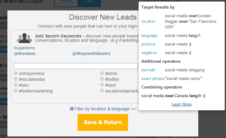 Commun.it review - discovering new leads