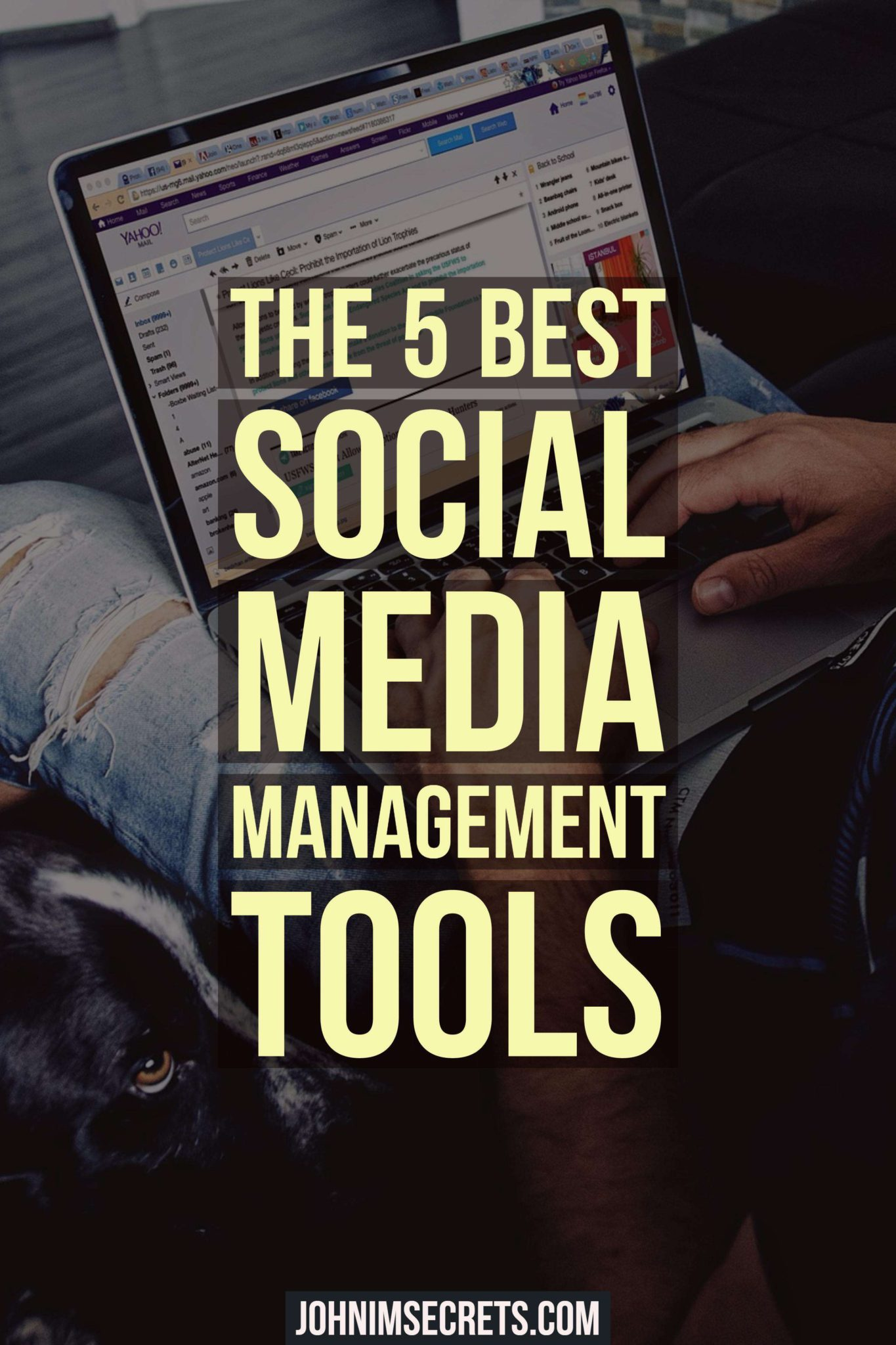 The 5 Best Social Media Management Tools - Pin
